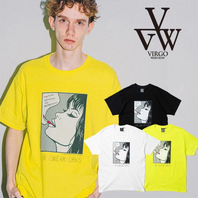 VIRGO ヴァルゴ バルゴ COMIC LADY T 【Tシャツ 半袖】【VG-SSPT-244】【2021SPRING&SUMMER先行予約】【キャンセル不可】【VIRGOwe