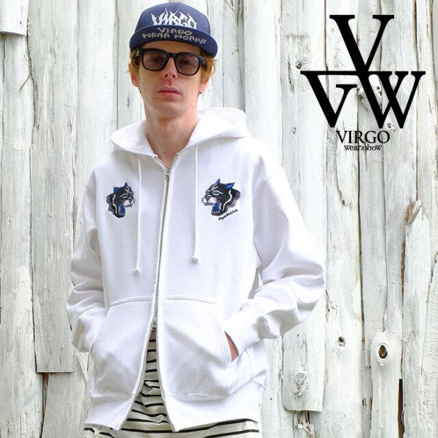 VIRGO ヴァルゴ バルゴ OLD PANTHER HOODIE 【パーカー フーディー】【VG-SWT-131】【2021SPRING&SUMMER新作】【VIRGOwearworks】