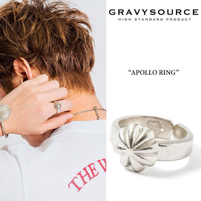 GRAVYSOURCE(グレイヴィーソース) APOLLO RING 【2019HOLIDAY/SPRING先行予約】【キャンセル不可】 【GRAVYSOURCE 指輪】【GSRP-A