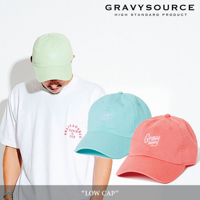 GRAVYSOURCE(グレイヴィーソース) LOW CAP 【2018HOLIDAY/SPRING先行予約】 【キャンセル不可】 【GS18-HCP02】