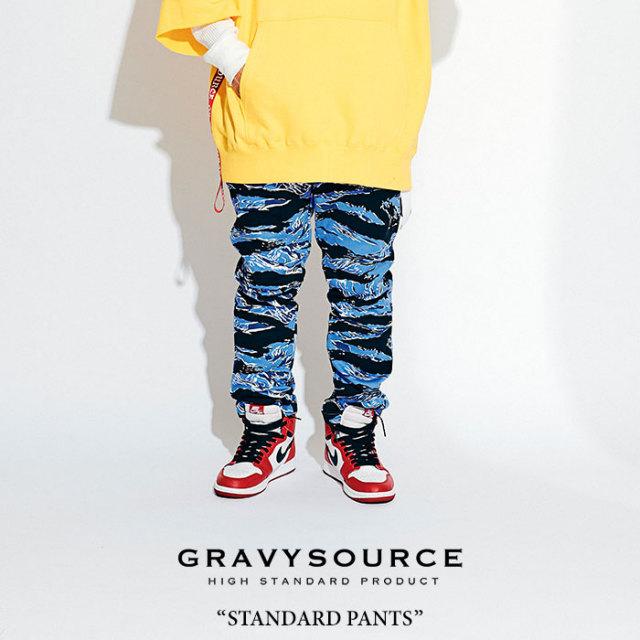 GRAVYSOURCE(グレイヴィーソース) STANDARD PANTS 【2018HOLIDAY/SPRING先行予約】 【送料無料】【キャンセル不可】 【GS18-HPT0