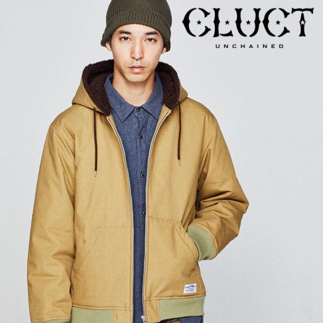 CLUCT(クラクト) HOODED BOA JKT 【2018HOLIDAY先行予約】 【キャンセル不可】 【#02871】