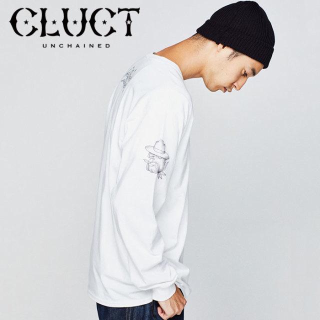 【SALE40%OFF】 CLUCT(クラクト) GOOD VIBES 【2018HOLIDAY新作】 【ロングスリーブTシャツ】【#02886】