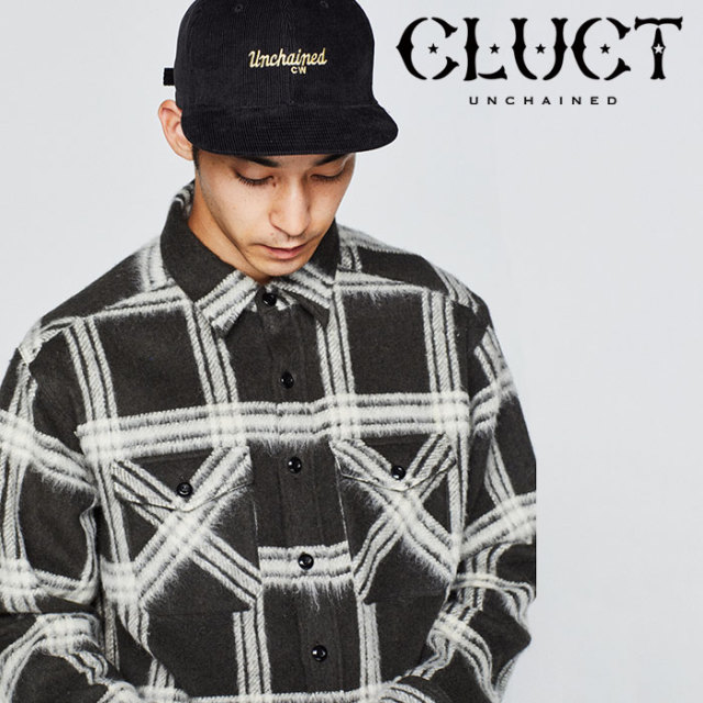 【SALE40%OFF】 CLUCT(クラクト) WOOL CHECK SHIRT 【2018HOLIDAY新作】【#02893】 【ウールチェックシャツ】