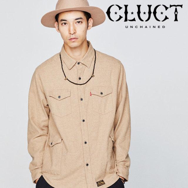 CLUCT(クラクト) FLANNEL PKT SHIRT 【2018HOLIDAY先行予約】 【キャンセル不可】【#02894】
