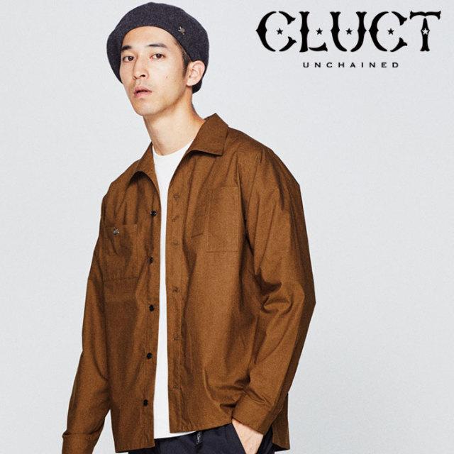 CLUCT(クラクト) BROOCH SHIRT 【2018HOLIDAY先行予約】 【キャンセル不可】 【#02895】