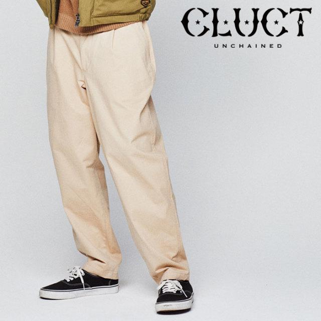 CLUCT(クラクト) CHINOCLOTH PANTS 【2018HOLIDAY新作】 【チノクロスパンツ】【#02897】