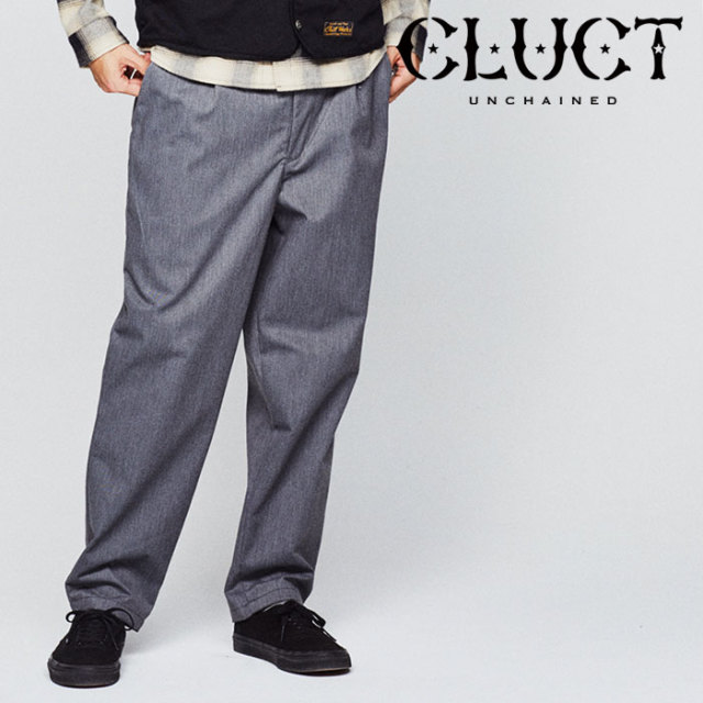 CLUCT(クラクト) COTTON TWEED TRUCK PANTS 【2018HOLIDAY先行予約】 【キャンセル不可】 【#02899】