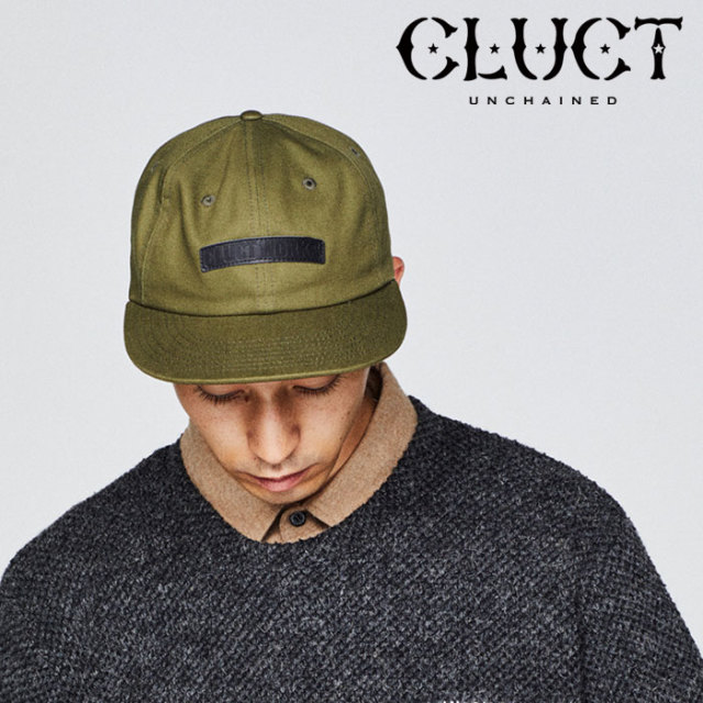 CLUCT(クラクト) 6PANEL BALLER CAP 【2018HOLIDAY新作】 【クラクト キャップ】【#02906】