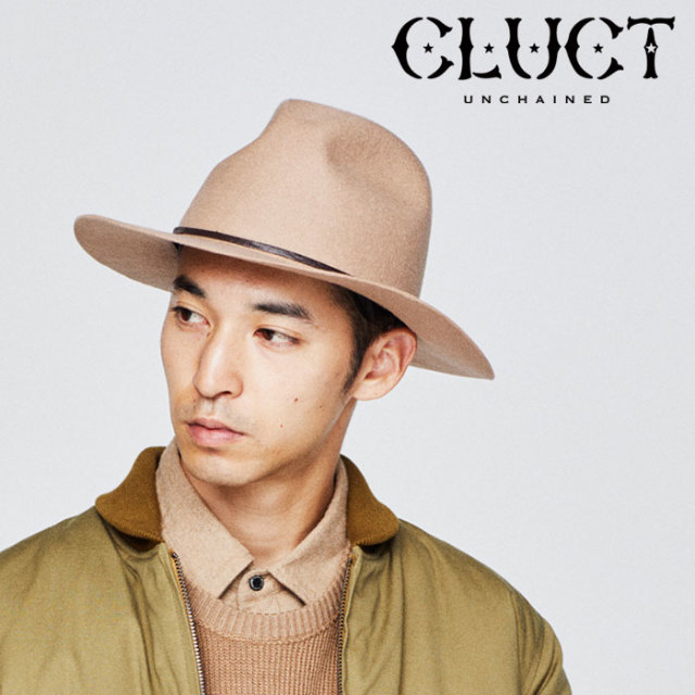 【SALE40%OFF】 CLUCT(クラクト) BROOCH HAT 【2018HOLIDAY新作】 【ウール ハット メルトン】【#02909】