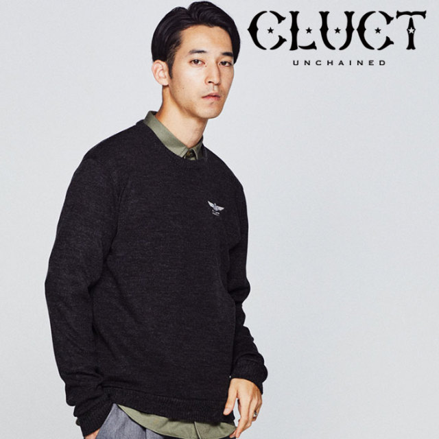 【SALE30%OFF】 CLUCT(クラクト) BARUFY KNIT SEW 【2018HOLIDAY新作】 【ニットソー】【#02910】