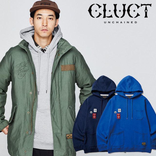 CLUCT(クラクト) WAPPEN HOODSWEAT 【2018HOLIDAY先行予約】 【キャンセル不可】【#02912】