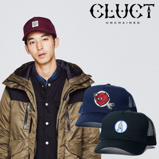 【SALE30%OFF】 CLUCT(クラクト) MESH CAP 【2018HOLIDAY新作】 【メッシュキャップ】【#02919】