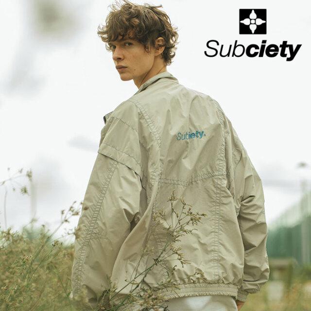 SUBCIETY(サブサエティ) NYLON TRACK TOP 【トラックトップ】【106-62631】【2021SPRING先行予約】【キャンセル不可】