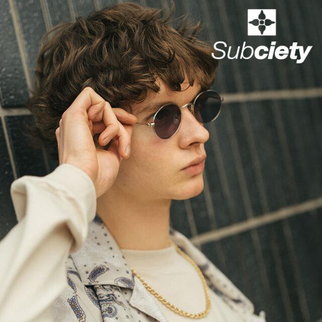 SUBCIETY(サブサエティ) SUNGLASS 【サングラス】【106-87660】【2021SPRING先行予約】【キャンセル不可】