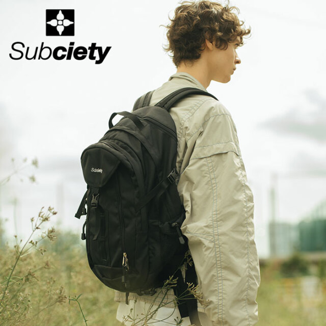 SUBCIETY(サブサエティ) DRIFTER PACK 【バックパック】【106-88665】【2021SPRING先行予約】【キャンセル不可】