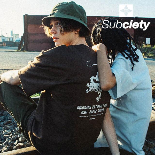 SUBCIETY(サブサエティ) SAFARI S/S 【Tシャツ 半袖】【107-40673】【2021SUMMER先行予約】【キャンセル不可】