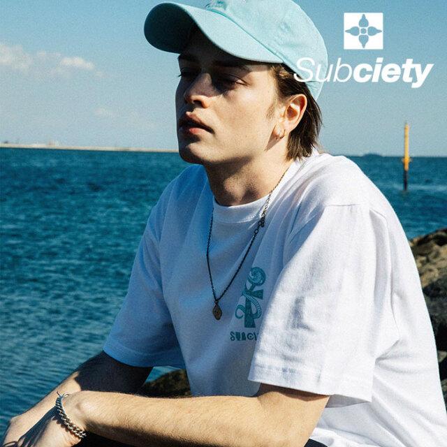SUBCIETY(サブサエティ) ANK S/S 【Tシャツ 半袖】【107-40675】【2021SUMMER先行予約】【キャンセル不可】