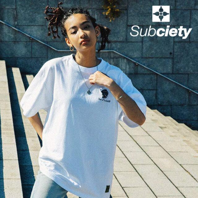 SUBCIETY(サブサエティ) AMBITION S/S 【Tシャツ 半袖】【107-40677】【2021SUMMER先行予約】【キャンセル不可】