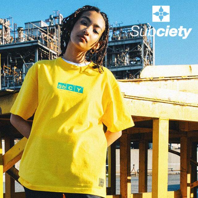 SUBCIETY(サブサエティ) UPPER S/S 【Tシャツ 半袖】【107-40678】【2021SUMMER先行予約】【キャンセル不可】