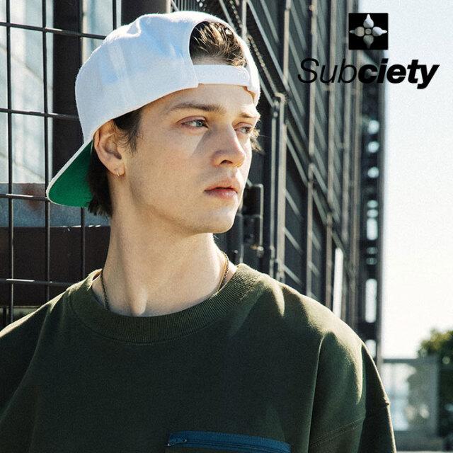 SUBCIETY(サブサエティ) SNAPBACK CAP-Fuckyou- 【キャップ】【107-86687】【2021SUMMER新作】