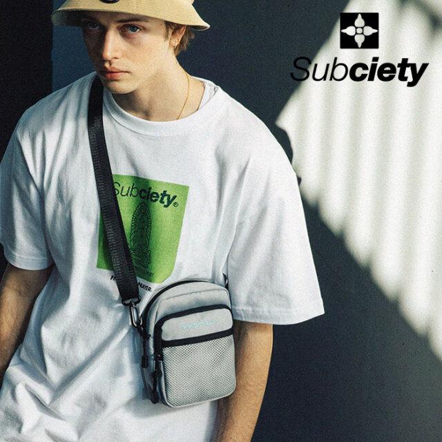 SUBCIETY(サブサエティ) SHOULDER BAG 【ショルダーバッグ】【107-88693】【2021SUMMER先行予約】【キャンセル不可】