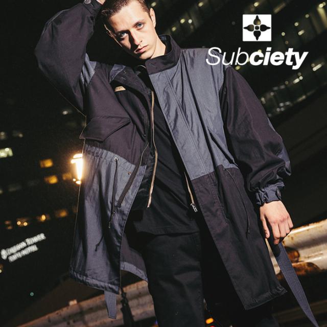 SUBCIETY(サブサエティ) M-65 FIELD JKT 【ジャケット】【108-62695】【2021AUTUMN&WINTER先行予約】【キャンセル不可】