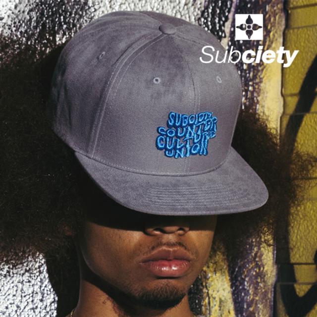 SUBCIETY (サブサエティ)  SNAPBACK CAP-1969- 【キャップ】【108-86728】【2021AUTUMN&WINTER新作】
