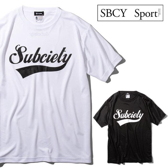 SUBCIETY SPORTS(サブサエティ スポーツ) DRY TEE S/S-GLORIOUS- 【Tシャツ 半袖】【115-40053】【SBCY SPORT】【2021SUMMER先行予