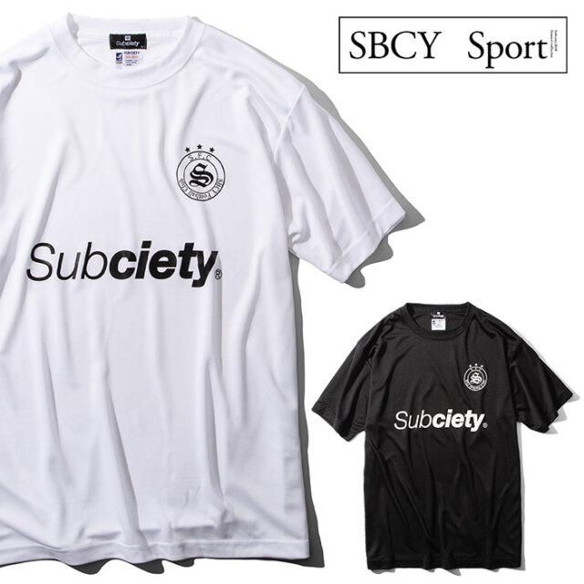 SUBCIETY SPORTS(サブサエティスポーツ) DRY TEE S/S-S.F.C- 【Tシャツ 半袖】【116-44048】【2021SPRING先行予約】【キャンセル不