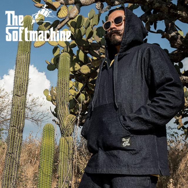 SOFTMACHINE(ソフトマシーン) ACAPULCO HOODED (MEXICAN PARKA) 【2019SUMMER VACATION新作】【送料無料】【パーカー】