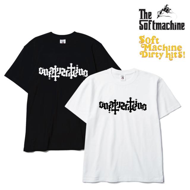 SOFTMACHINE(ソフトマシーン) AMBIGRAM-T(T-SHIRTS)(2010) 【SOFTMACHINE DIRTY HITS 先行予約】【キャンセル不可】【Tシャツ】