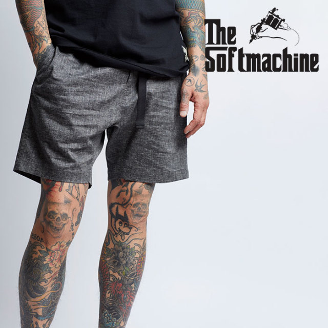 SOFTMACHINE(ソフトマシーン) BIVOUAC SHORTS(CLIMBING SHORT PANTS) 【2019SUMMER VACATION先行予約】【キャンセル不可】【ショー
