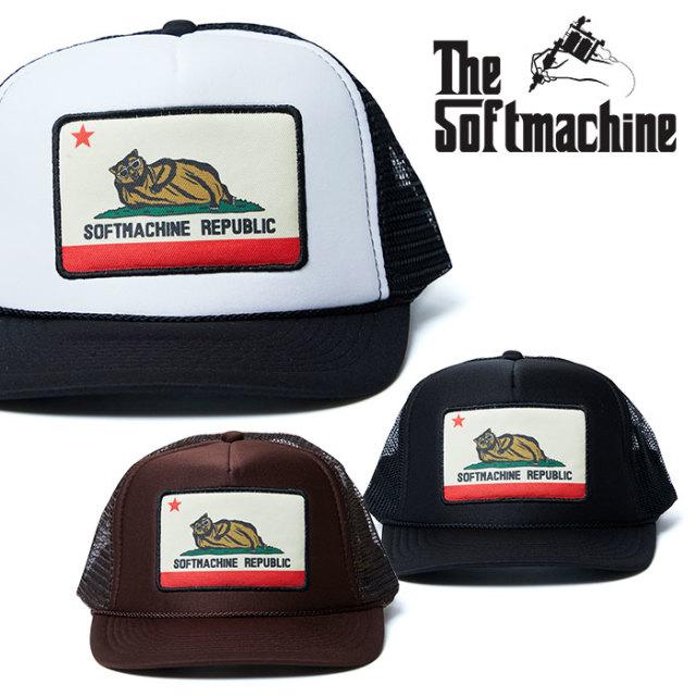 SOFTMACHINE(ソフトマシーン) CHILLIN' CAP (MESH CAP) 【2019SUMMER VACATION先行予約】【キャンセル不可】【キャップ】