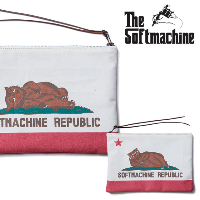 SOFTMACHINE(ソフトマシーン) CHILLIN' POUCH(POUCH) 【2019SUMMER VACATION先行予約】【キャンセル不可】【ポーチ】