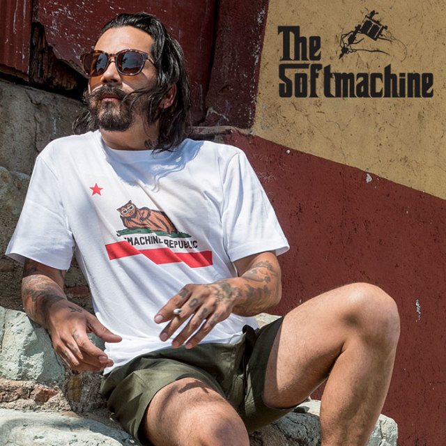 SOFTMACHINE(ソフトマシーン)  CHILLIN'-T(T-SHIRTS) 【2019SUMMER VACATION新作】【Tシャツ】