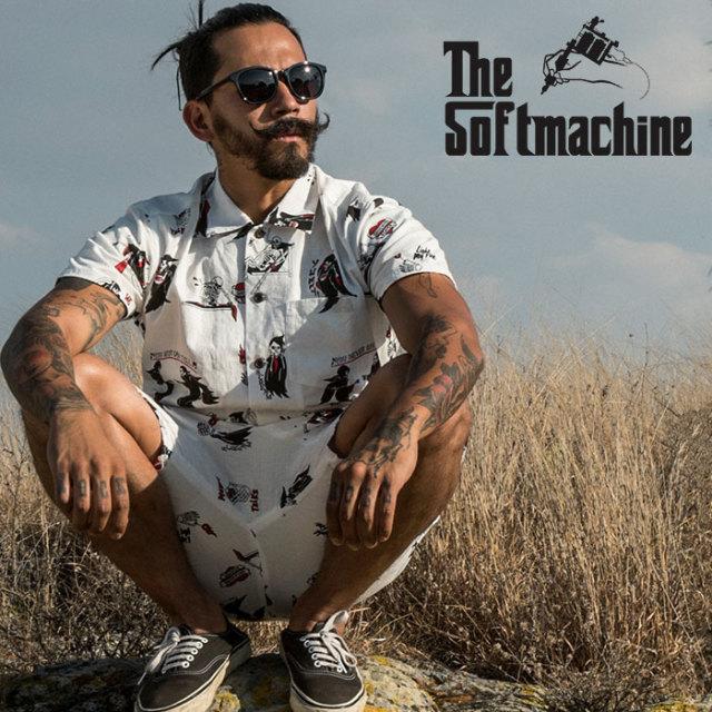SOFTMACHINE(ソフトマシーン) CLOAK CAPES SHIRTS (S/S SHIRTS) 【2019SUMMER VACATION先行予約】【キャンセル不可】【シャツ】
