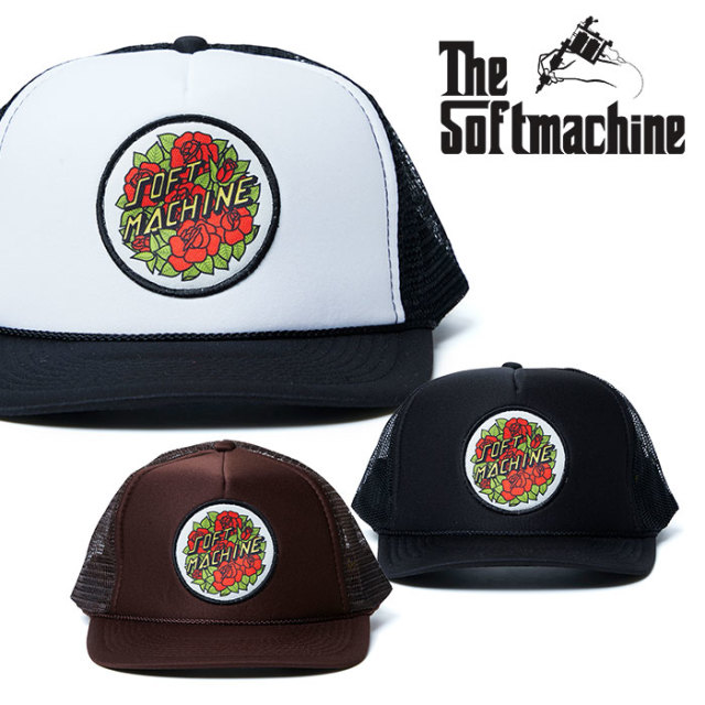 SOFTMACHINE(ソフトマシーン) COAST CAP (MESH CAP) 【2019SUMMER VACATION先行予約】【キャンセル不可】【キャップ】