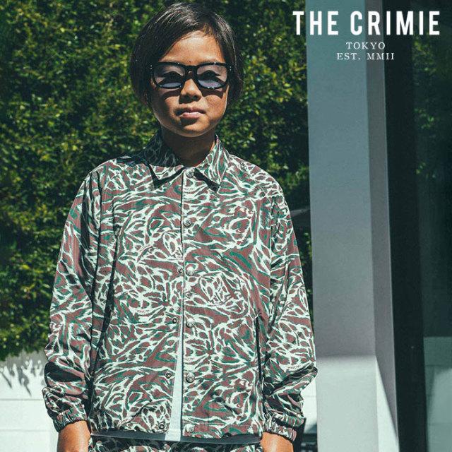 CRIMIE(クライミー) KIDS BAT CAMO COACH JACKET 【キッズコーチジャケット カモフラ 子供 おしゃれ】【アメカジ ミリタリー】【CR