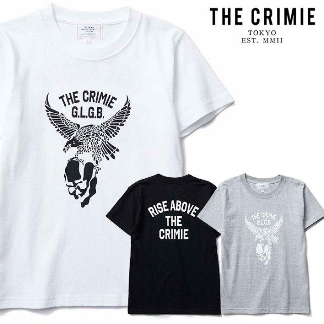 CRIMIE(クライミー) KIDS EAGLE T-SHIRT 【キッズTシャツ ロゴ 子供 おしゃれ】【ブラック ホワイト グレー アメカジ ミリタリー】
