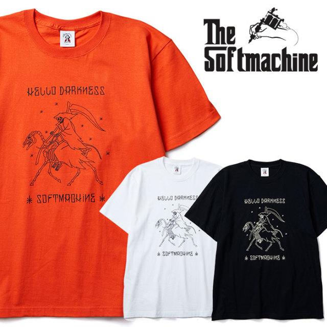 SOFTMACHINE(ソフトマシーン) DARKNESS-T(T-SHIRTS) 【2019SUMMER VACATION先行予約】【キャンセル不可】【Tシャツ】