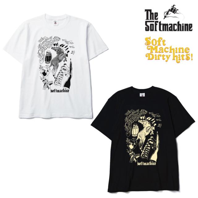 SOFTMACHINE(ソフトマシーン) DESTRUCTION-T(T-SHIRTS)(2009) 【SOFTMACHINE DIRTY HITS 先行予約】【キャンセル不可】【Tシャツ】