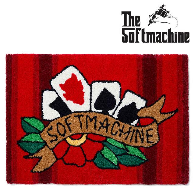 SOFTMACHINE(ソフトマシーン) FOUR CARDS RUG(RUG) 【2019SUMMER VACATION新作】【送料無料】【ラグ マット】