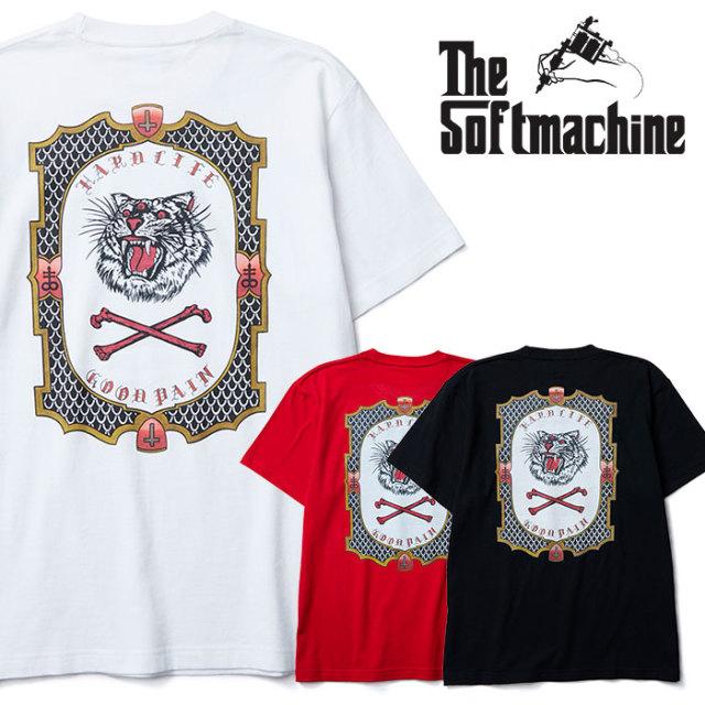 SOFTMACHINE(ソフトマシーン) GOOD PAIN TIGER-T(T-SHIRTS) 【2019SUMMER VACATION先行予約】【キャンセル不可】【Tシャツ】
