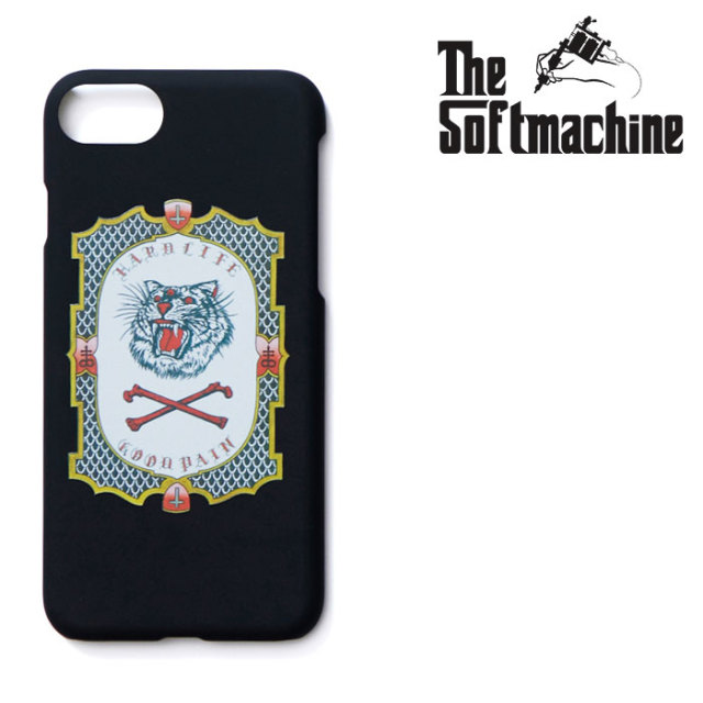 SOFTMACHINE(ソフトマシーン) GOOD PAIN TIGER iPhone CASE(iPhone7&8 CASE) 【2019SUMMER VACATION先行予約】【キャンセル不可】