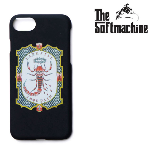 SOFTMACHINE(ソフトマシーン) GOOD PAIN SCORPION iPhone CASE(iPhone7&8 CASE) 【2019SUMMER VACATION先行予約】【キャンセル不可