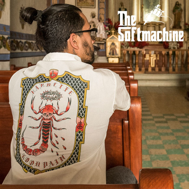 SOFTMACHINE(ソフトマシーン) GOOD PAIN SCORPION SHIRTS (S/S SHIRTS) 【2019SUMMER VACATION先行予約】【キャンセル不可】【シャ