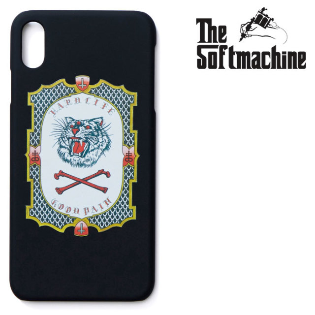 SOFTMACHINE(ソフトマシーン) GOOD PAIN TIGER iPhone CASE(iPhone 7&8 Plus,X,XR,XS,XS MAX) 【2019SUMMER VACATION新作】【iPhon
