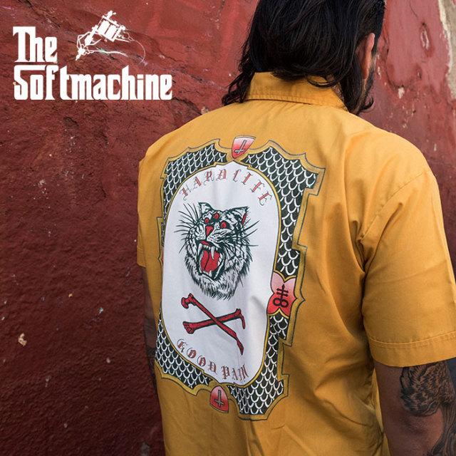 SOFTMACHINE(ソフトマシーン) GOOD PAIN TIGER SHIRTS (S/S SHIRTS) 【2019SUMMER VACATION先行予約】【キャンセル不可】【シャツ