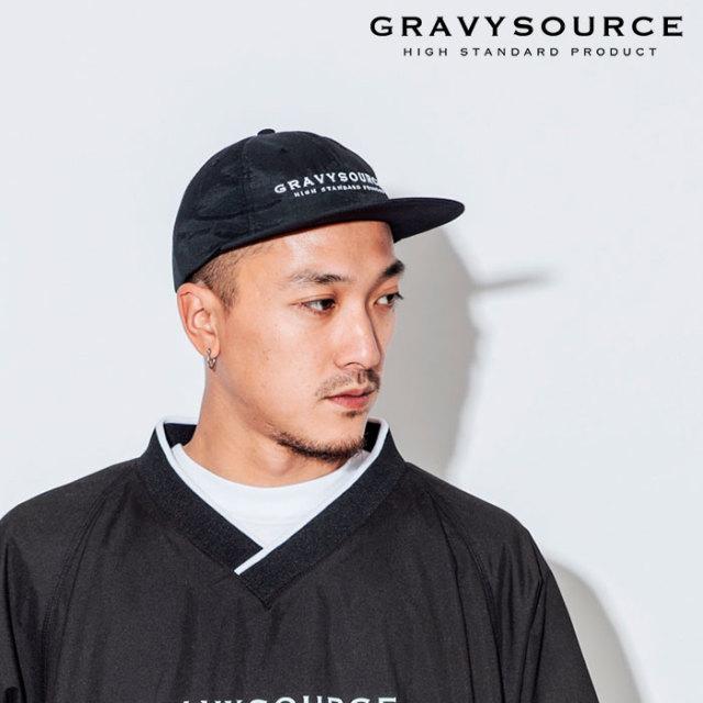 GRAVYSOURCE(グレイヴィーソース) LOGO CAP 【2018AUTUMN/WINTER先行予約】 【キャンセル不可】【GS18-ACP01】